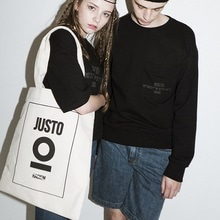 [JUSTO]ONEPOSTER ECOBAG-IVORY