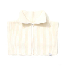 [LAFUDGESTORE] [퍼퓸니트] Zipper Knit Warmer_Ivory