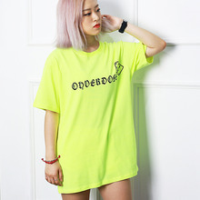 [10%할인][OHVERDOSE]New Logo Short Sleeve Neon