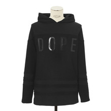[DOPE] Front Print Hockey Pullover