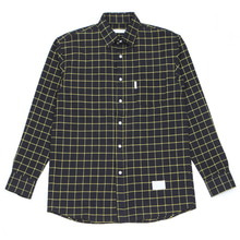 [MELROY] UNISEX Bebe Check Shirts (YELLOW)