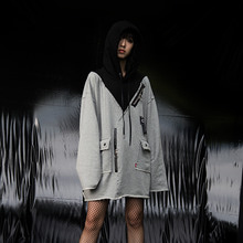 [OY] CUT HEAVY HOODY - GY