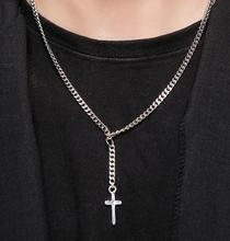 [HAWHA] Neck chain cross necklace