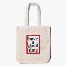 [Have a good time] FW17 Frame Tote Bag - Natural