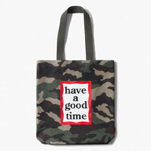 [Have a good time] FW17 Frame Tote Bag - Camo