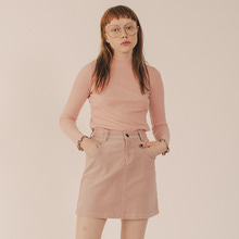 [RUNNINGHIGH] Running High Corduroy Mini Skirt - Pink