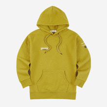 [Andersson bell]UNISEX LAYER EMBROIDERY HOODIE atb161u - OLIVE