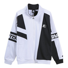 [STARTER] Heriage Banded Zip-Up - Black