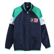 [STARTER] OG80's Athletic TRCK Jacket - Navy