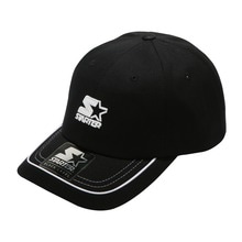 [STARTER] Piping Ballcap - Black