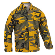[Rothco] Rothco Color Camo BDU Shirt - Yellow