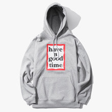 [Have a good time] FW17 Frame Pullover Hoodie - Grey