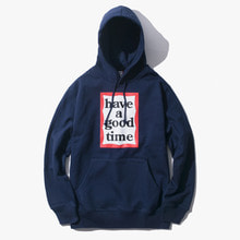 [Have a good time] FW17 Frame Pullover Hoodie - Navy