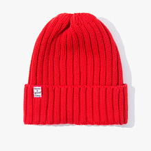 [Have a good time] FW17 Basic Beanie - Red