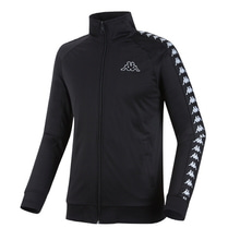 [Kappa] KIFT351MN Zip-Up - Black