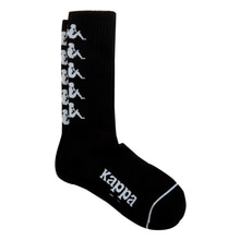 [Kappa] KISC355UN Socks - Black