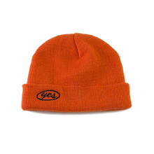 [YESEYESEE]Y.E.S Short Beanie Orange