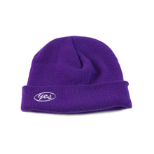 [YESEYESEE]Y.E.S Short Beanie Purple