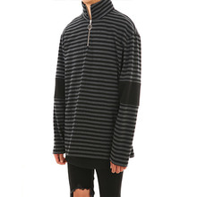 [LANG VERSIO]Stripe Turtle Neck (Black&Charcoal)