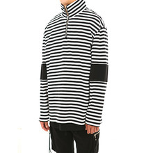 [LANG VERSIO]Stripe Turtle Neck (Black&White)