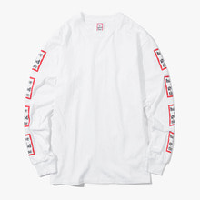[Have a good time] FW17 Arm Frame L/S Tee - White