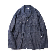 [14%할인] [파르티멘토]Washing Denim Shirts Jacket