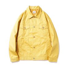 [14%할인] [파르티멘토]Coating Trucker Jacket Yellow