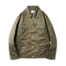 [14%할인] [파르티멘토]Coating Trucker Jacket Khaki