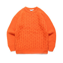 [LAFUDGESTORE] (Unisex) Candy Alpaca Knit_Orange