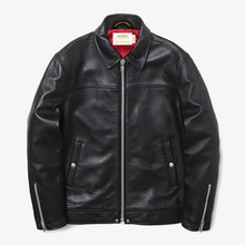 [MAHAGRID] [20% 할인]SINGLE RIDERS JACKET(LAMBSKIN) BLACK