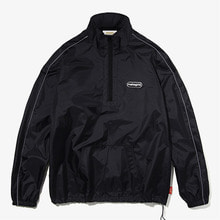 [MAHAGRID] WARM-UP TRACK TOP BLACK