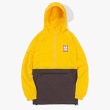 [Have a good time] FW17 2 Tone Anorak - Mustard