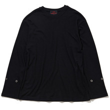 [20% 할인] [THIRD CONNECTION] 17AW EYELET LONG SLEEVE WAFFLE T-SHIRTS