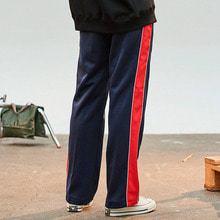 [31%] [ONA] RED LINE TRACK PANTS