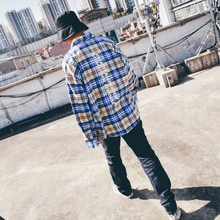 [BASEMOMENT] (20%할인) BR Flannel Check Over Shirt - Beige