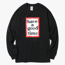 [Have a good time] FW17 Frame L/S Tee - Black