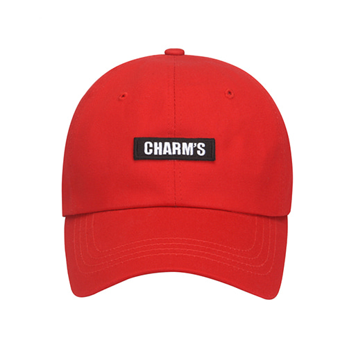 [CHARM'S] Basic logo cap - RE