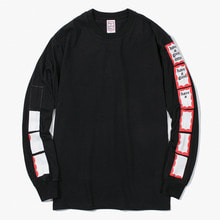 [Have a good time] FW17 Animation Frame L/S Tee - Black