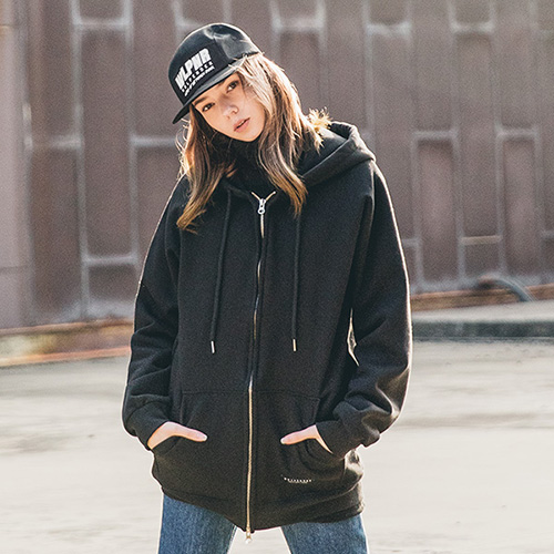 [50% sale] [WOLPENDER] (Unisex) Overfit Napping Hood Zip-up
