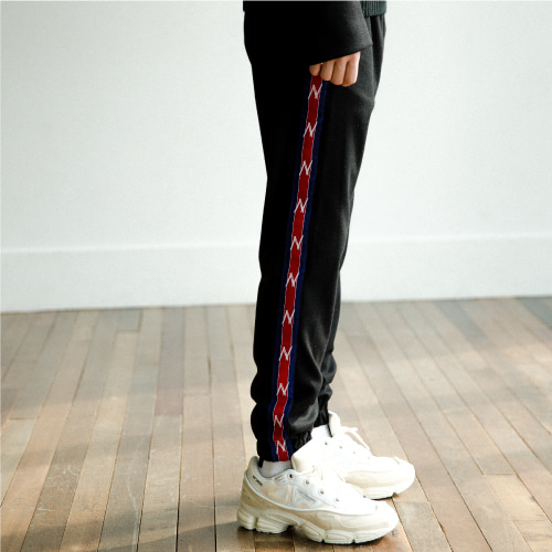 [NOT N NOT]Heavy line jogger pants - Blue