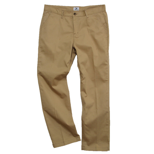 [MARSRAIGHT]TWILL PANTS-BEIGE