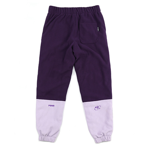 [AJOBYAJO] [12월 07일 예약배송] Fleece Jogger Pants (Purple)
