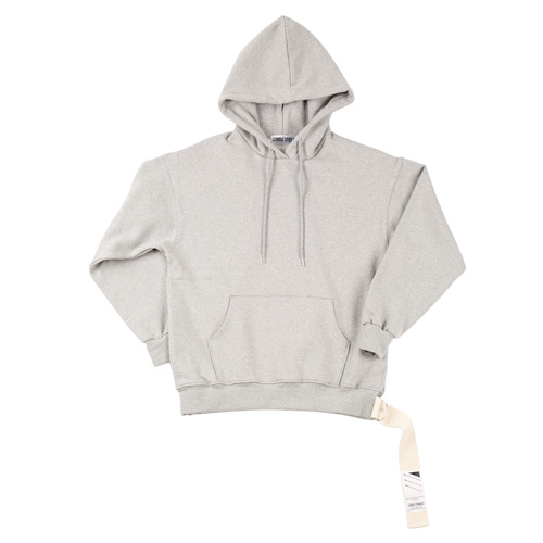 [CAMINO STREET] UNISEX OUT FOCUS WEAVING HOODIE - GRAY(기모)