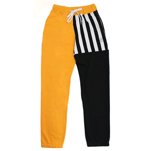 [e by EASY BUSY] Malevich Track Pants - Gold