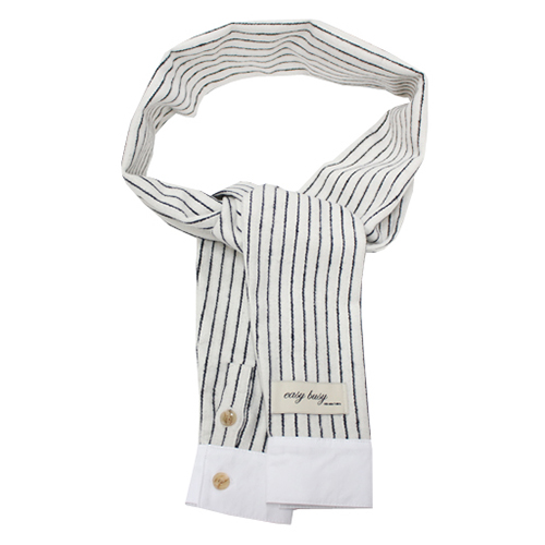 [e by EASY BUSY] Shirts Muffler - Ivory