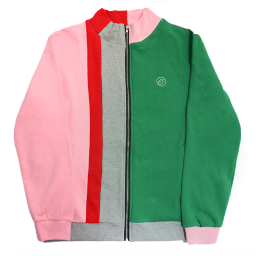 [e by EASY BUSY] Malevich Track Top - Green