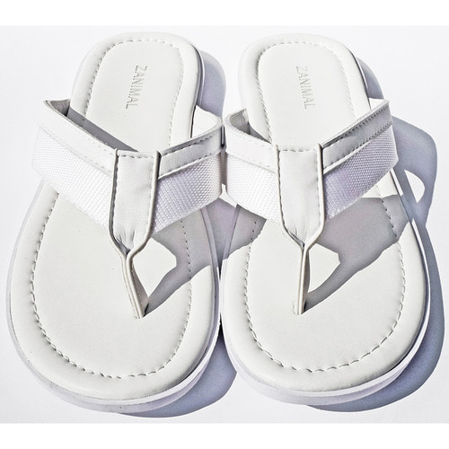 [zanimal]Altes Slipper White- White