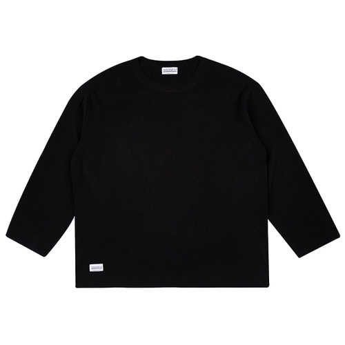 [하운드빌] LOOSE FIT knit wear black