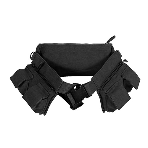 [Rothco] Rothco Canvas 7 Pocket Fanny Pack - Black