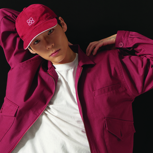 [CHOISI]Primary Trucker Jacket, Burgundy